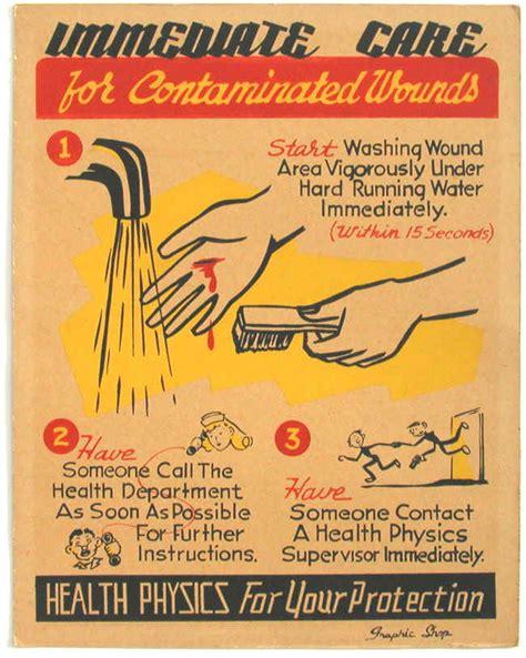 health physics poster
