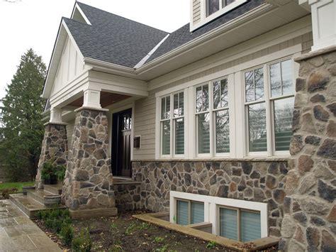 Home Exterior  Stone Brick Veneer
