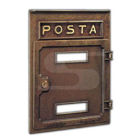 cassette lettere incasso frontale da incasso con porta e buca lettere silmec