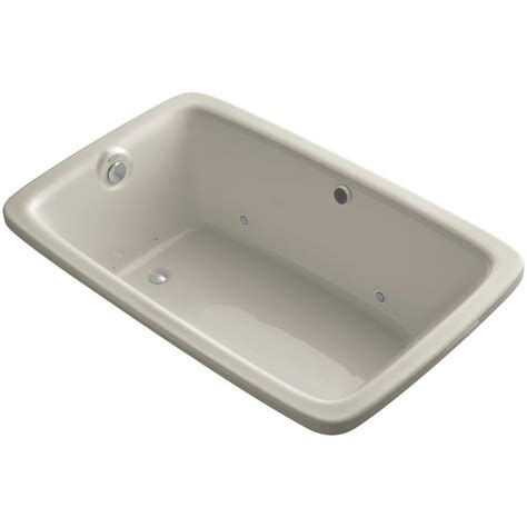 Air Bath Tub by Kohler Bancroft 5 5 Ft Air Bath Tub In Sandbar K 1158 Gcr