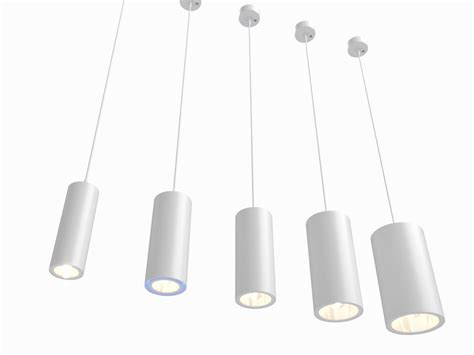Erco Lighting by Erco Cylinder Luminaires Lighting 3d Model