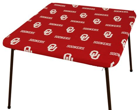 oklahoma sooners card table cover 33 quot x33 quot contemporary