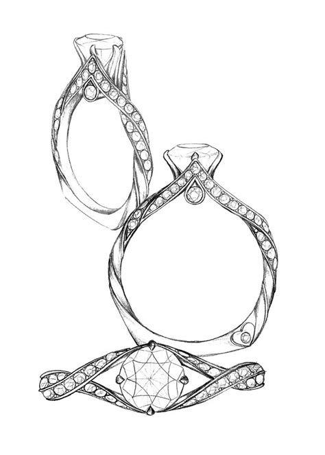 jewelry design drawing ideas  pinterest