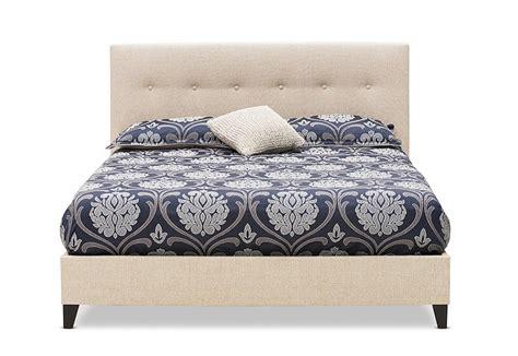 arya queen bed super amart  images bed