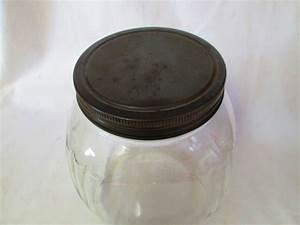 1940's Art Deco Style Kitchen Storage Jar marbles treats