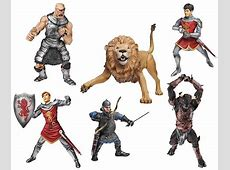 Chronicles of Narnia Deluxe Action Figures Wave 1 Set