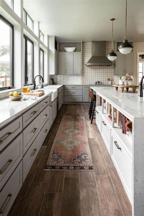 modern farmhouse kitchen  vintage flair hgtv