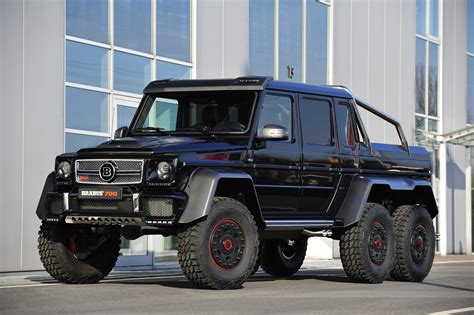 2013 Brabus Mercedes Benz G63 Amg 6x6 W463 Pickup Offroad