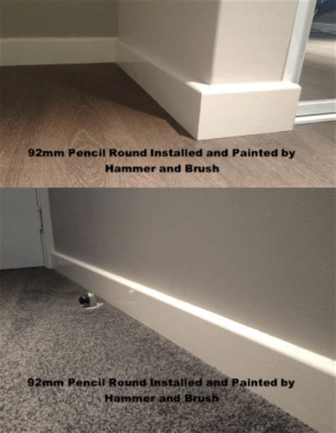 Skirting Boards Perth installed by a CARPENTER (not handyman)