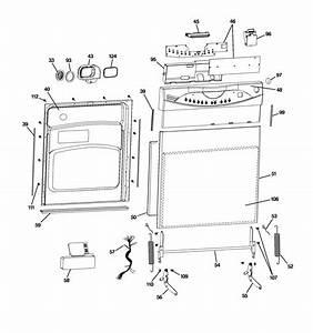 27 Ge Dishwasher Parts Diagram