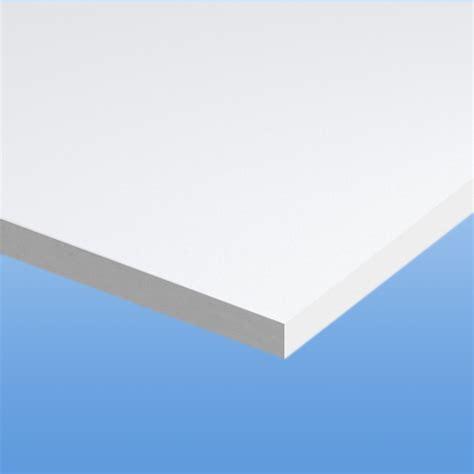 Shop Standard 25 In X Pvc Schaumplatte 10mm Weiß Stegplattenshop Com