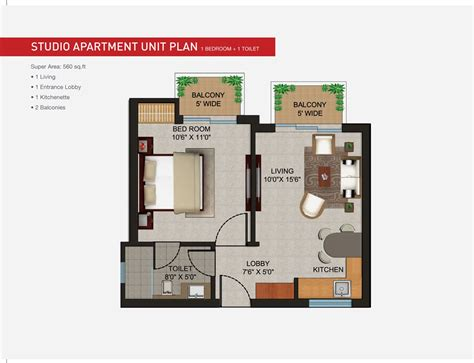 One Bedroom Apartment Layout Ideas by Studio Blueprints Studio Apartment Floor Plan And