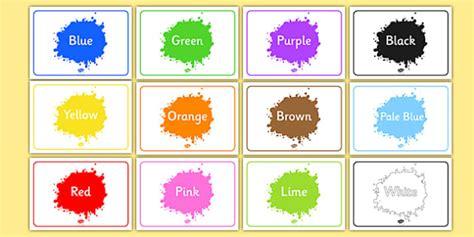 color labels editable class signs colour colours signs