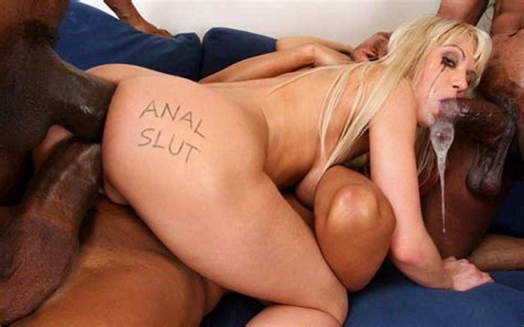 #Anal #Slut #Likes #Black #Cocks #16084