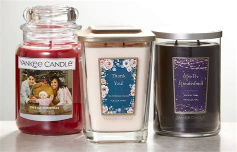 Personalized Candles Yankee Candles Personalized