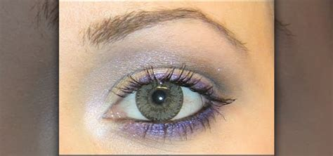 create  purple  silver eye   light brown