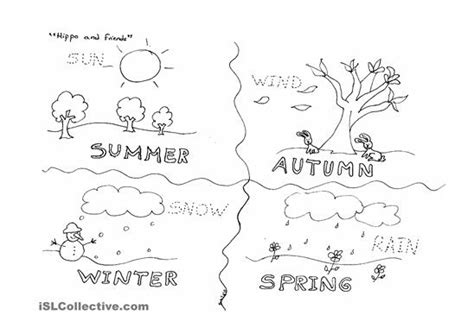6 best images of season and weather free printables free
