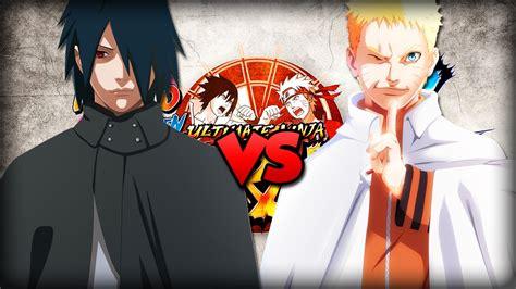 Naruto Hokage Vs Sasuke Adulto [naruto Storm 4]