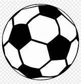 Ball Soccer Drawing Coloring Clipart sketch template