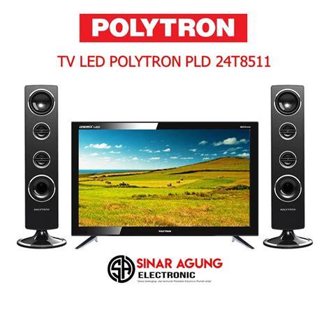 Harga Tv Merk Polytron 24 Inch led tv polytron speaker tower pld24t8511 24 inch hd tv