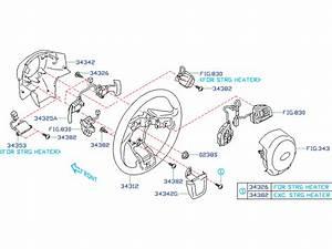 Subaru Forester Control Unit  Steering  Steering Heater Control U