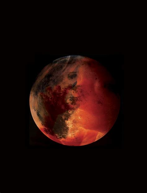 Mars: Red Planet's Rapid Formation Explains Its Small Size