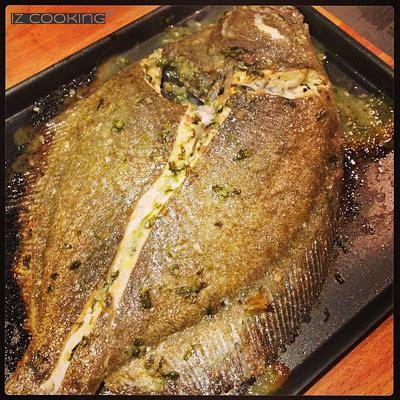 cuisiner un turbot barbue entière marinée et cuite au four paperblog