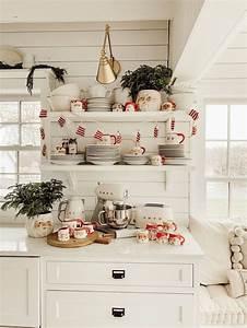44, Stunning, Winter, Theme, Kitchen, Decorating, Ideas