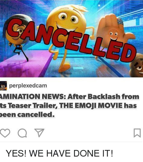 Emoji Movie Memes - perplexedcam amination news after backlash from ts teaser trailer the emoji movie has been