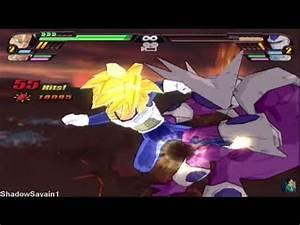 DBZ BT3 SSJ Teen Gohan & SSJ Goku End vs Final Form Cooler ...