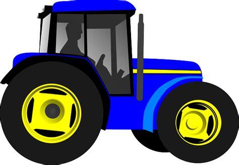 vector graphic tractor vehicle machine engine  image  pixabay