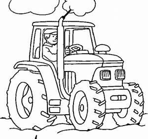 Malvorlagen Zum Ausdrucken Ausmalbilder Traktor Kostenlos 4
