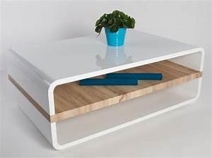 Table En Bois Design : table basse design en chene ~ Preciouscoupons.com Idées de Décoration