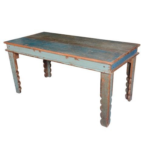 Rustic Farmhouse Reclaimed Wood Rectangular Kitchen Table