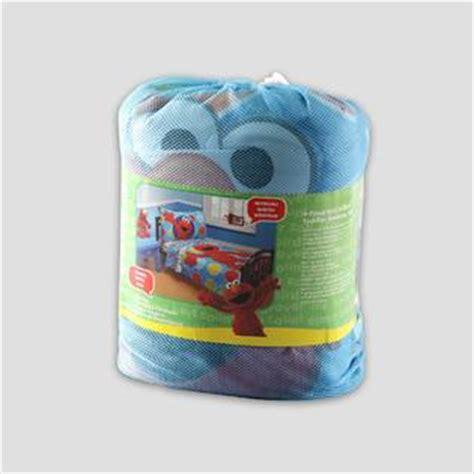 sesame street elmo toddler s 4 piece bedding set