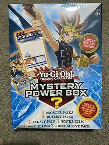 We'll do the shopping for you. YUGIOH Mystery Box NEW SEALED! 3 Booster Packs! 4 Duelist Packs! 1 Legacy Pack   eBay