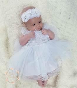 Baptism Dress-Christening dress Newborn white dress Newborn
