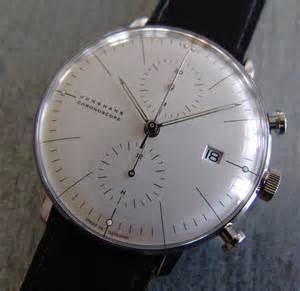 junghans max bill chronoscope designophy designpedia www designophy - Junghans Design