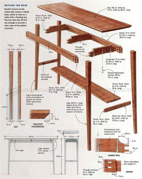 Floating Top Table Plans ? WoodArchivist