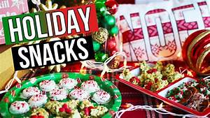 Diy Holiday Snack Ideas U0026 Christmas Treats Laurdiy Youtube
