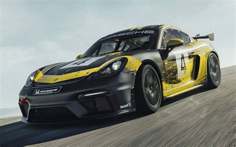 porsche  cayman gt clubsport wallpapers  hd
