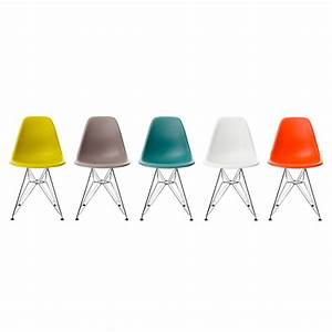 Eames Plastic Side Chair : eames plastic side chair dsr von vitra ~ Bigdaddyawards.com Haus und Dekorationen