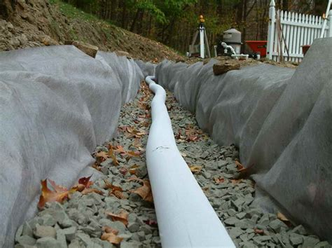 drainage pipe cost french drain cost reviews with the pvc pipe