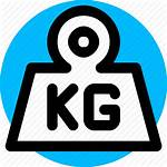 Weight Kg Kilogram Scale Icon Icons 512px