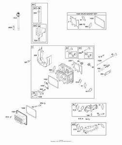 Briggs And Stratton 31e777-1500-g5 Parts Diagram For Gasket Set