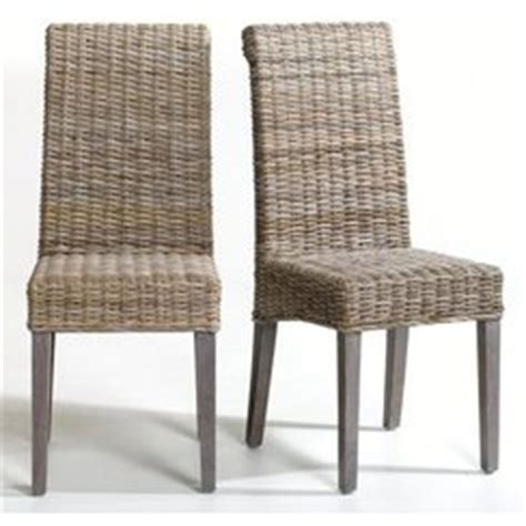 chaise en rotin pas cher chaise de salle a manger en rotin