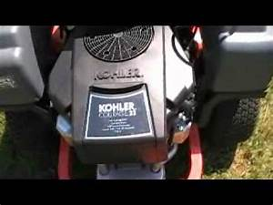 2011 Husqvarna Rz4623 Zero Turn Lawn Mower  Bees