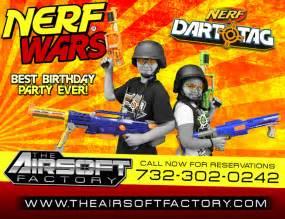Nerf Gun War Birthday Party