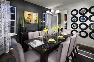 Vista Ridge Model Home Dining Room - Contemporary - Dining