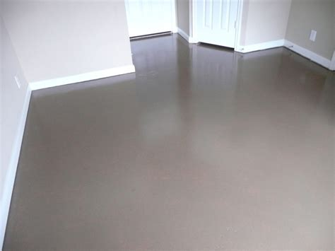 Concrete Floor Painting and Sealing   Broom Construction